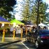 ゴールドコースト ブロードビーチ、日曜の朝のマーケット
