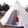 アウトドア・ベース 犬山キャンプ場で、春キャンプ