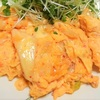 簡単、安い、健康料理! 卵とキムチのスクランブルエッグ