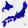 高齢者比率の高い都道府県は?現在と2040年。