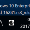 Windows 10 Build 16281リリース