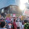 地球の恥さらし & 差別デモに反対する意思表示 Racists & Anti-Racists in Ginza,Tokyo