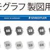 世界最多の24硬度「マルス ルモグラフ 製図用高級鉛筆」