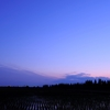 田園風景の夜