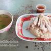 バンコク、タニヤの屋台の安くて美味しいカオマンガイ