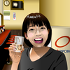 町中華の伝道師、坂ノ上茜ちゃんをエクセルで描いてみた