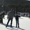 アイススケーティングへ。