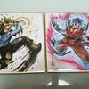 ドラゴンボール 超 色紙 アート 買ってみましたー! シークレット欲しい!!!
