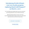World of Hyatt. ハイアットゴールドパスポートtierシステムに変化が。