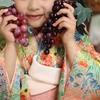 【七五三の思い出】本裁ちの手作り着物でお祝いしました。日本髪風ヘアに花簪が素敵でしょ♪