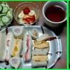 17/03/31の晩御飯(サンドイッチ)
