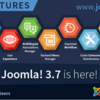【Joomla!】Joomla! 3.7 がリリースされています!