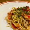 セミドライトマトとマリボーの旨味パスタ