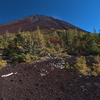 富士山 紅葉の御庭 奥庭 御中道めぐり