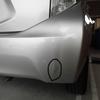 アクア(リアバンパー)ヘコミ・変形の修理料金比較と写真