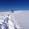那岐山の雪は深かった