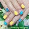 夏カラー&デザインが満載♡爽やかなステラ的サマーネイル☆ジェル