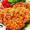 とうもろこしとチーズのかき揚げ【パンケーキパン】(動画レシピ)/Fried corn and cheese.