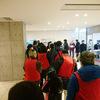 豊洲市場、マグロ競り見学デッキの一般公開