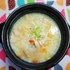 【気を養う】骨付き鶏もも肉でトロトロ薬膳鶏白湯中華粥の作り方。