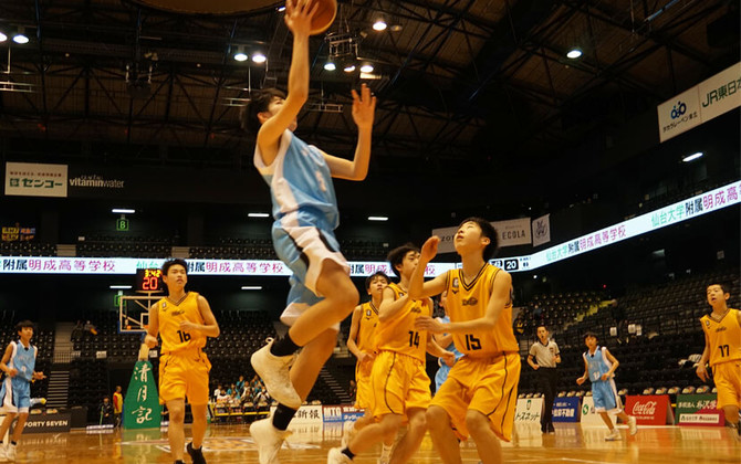 SoftBank 東北絆CUP 優勝特典、プロによる一日指導を開催! バスケ男子優勝チームに密着しました!