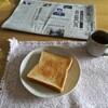 朝と夕食。お昼抜き。