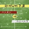 【簡易レビュー】欧州W杯予選 ベルギー vs ウェールズ