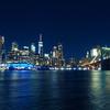 NY旅行記【1日目⑧ ブルックリンからの夜景】
