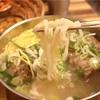 【合井】背骨肉が入った新感覚カルグクス!@평이담백뼈칼국수/平易淡泊ピョカルグクス