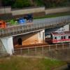 ミニチュア風写真『神田駿河台 聖橋からの眺望』