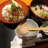 大手町【素材屋】鮭いくら丼▪そばセット ¥950