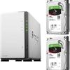 自動で脆弱性を解消する安全性の高いNAS Synology DS220j & Seagate HDD DS220j-SI4T2A