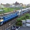 第1035列車 「 甲149+甲150 小田急電鉄5000形(5451f)の甲種輸送を狙う 」