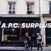 【A.P.C. SURPLUS】モンマルトル地区のおすすめアウトレットストア