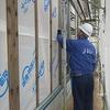 笠岡市の平屋 検査機関JIOによる躯体検査、防水検査