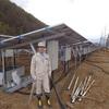 上ノ山のソーラー発電施設の現地確認へ