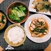 晩ごはん▶︎韓国風イカの炒め物とチヂミ定食(ニラの匂い対策!)