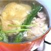 50℃洗いで鶏スープ
