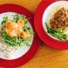 海老マヨと焼売とジャージャー麺
