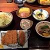 川崎ラゾーナでママ友ランチ👩😋かつくらの日替りカツ膳👍💫美味しかった。湘南白百合と中大横浜🌸こちらも面白かった。