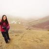 濃霧に覆われたレインボーマウンテン ペルー・クスコ 2020/01/04