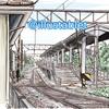 iPadで描いた 富山地方鉄道の越中荏原駅と似顔絵が出来上がるまで。