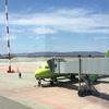 ウラジオストク国際空港から成田空港へ!@Vladivostok