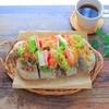 絶品のサンドイッチが食べられる大人気のお店。ボリューム満点で朝から幸せな気分に。