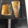 ホットサンドメーカーで魚を焼いてみた 美味しくて簡単で後片付けが超楽ちん