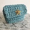 一番簡単なふた付きポーチの編み方