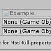 【Unity】Inspector で変数の参照が設定されていないオブジェクトを発見できる「NotNullAttribute」紹介