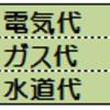 家計簿公開~光熱費編~