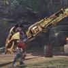 MHW:「皇金シリーズ」皇金の銃槍・水でテオ用装備作ってみた。刺さりすぎて笑えた。