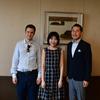 6月8日のブログ「ピアニストの平田歩さん&エマニュエル・リモルディさんと面談、小瀬区から要望書を受領、県コロナ対策本部員会議」